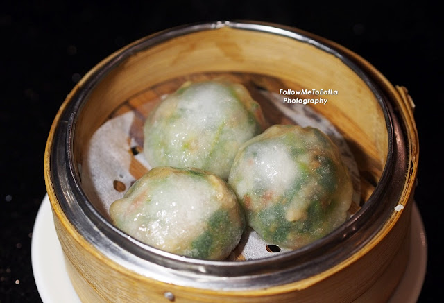 Steamed Ku Chai Dumplings