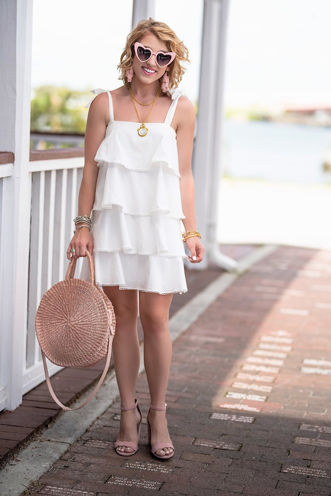 f6c0eb434425 My Favorite White Dress: WAYF Madelyn Tiered Dress | Something ...