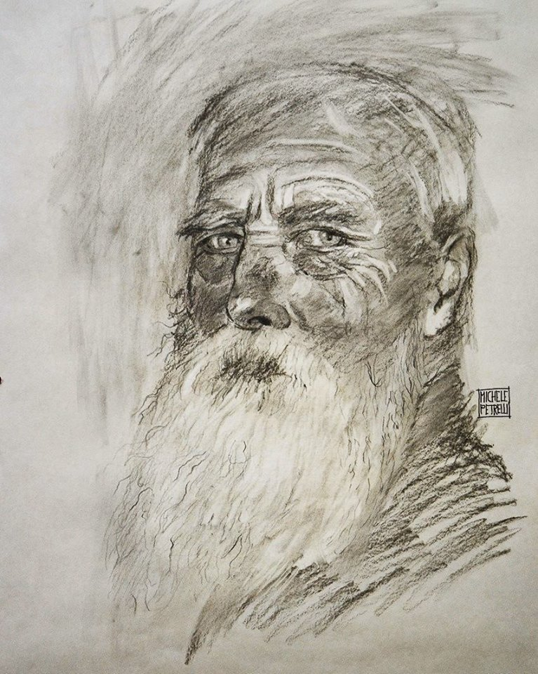 Old man with beard