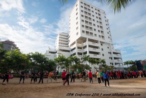 semangat berpasukkan di cdm conference 2016