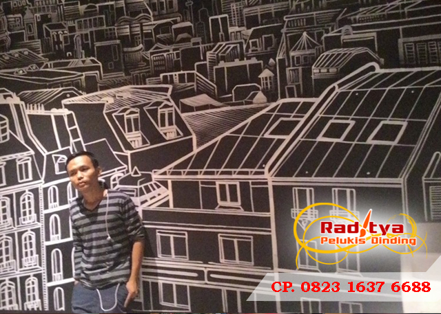 Jasa Mural Cafe Professional