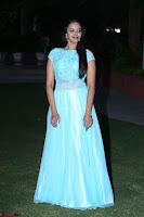 Pujita Ponnada in transparent sky blue dress at Darshakudu pre release ~  Exclusive Celebrities Galleries 138.JPG