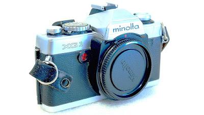 Minolta XG-1 (Chrome) Body #780