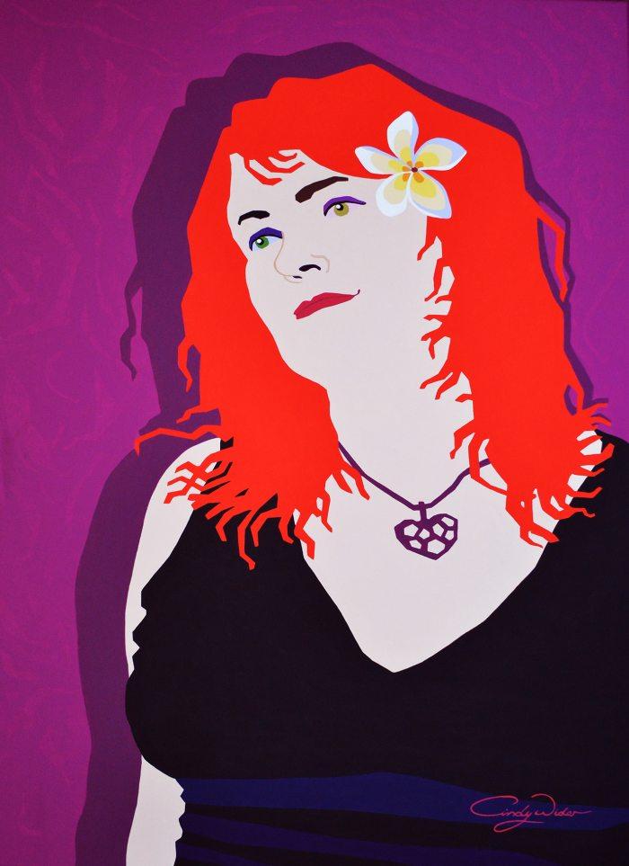 Австралийский художник. Cindy Wider