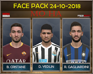 PES 2017 Facepack 24-10-2018 by Mo Ha