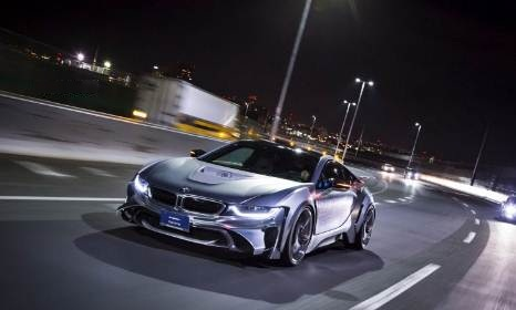 BMW i8 LR Edition with Energy Motor Sport EVO