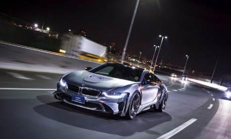 BMW i8 LR Edition with Energy Motor Sport EVO