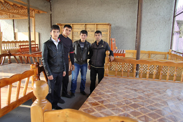 Ouzbékistan, Marguilan, tapchane, tapshan, Zafar, © L. Gigout, 2012