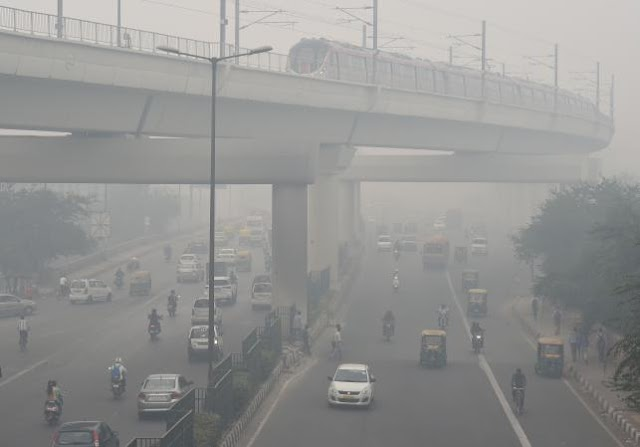 Human Rights :Polluted Delhi air 'like death sentence'