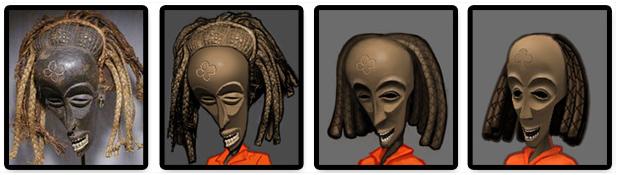 Máscaras africanas.