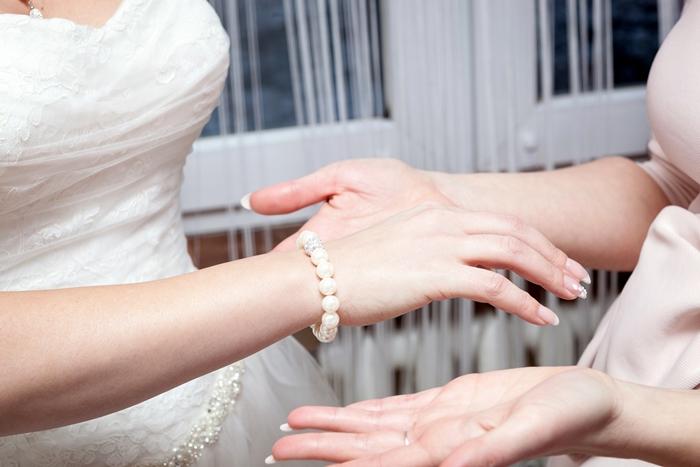ślub, bransoletka, suknia ślubna, weeding