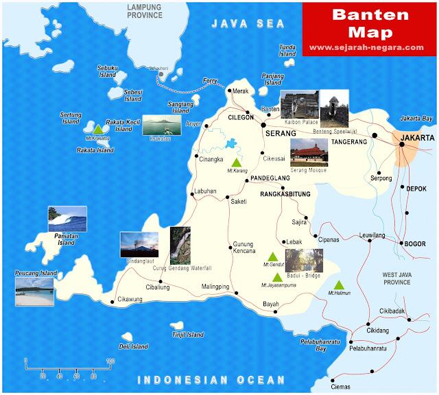 image: Banten Map high resolution