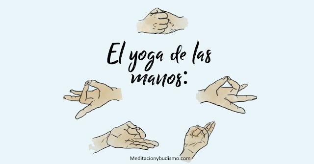 El significado de cada dedo al hacer una mudra