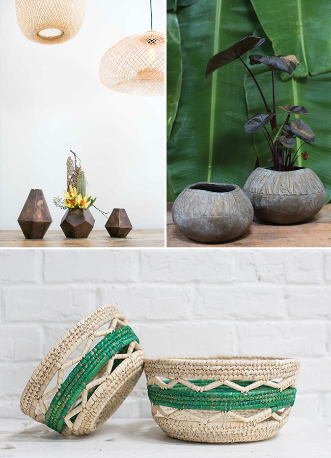 African-inspired vases and home decor by Accent Decor
