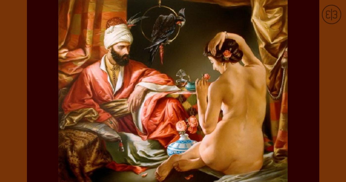 Наложницы султанов в сексе