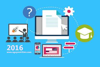 Tổng kết eLearning 2015 và bức tranh giáo dục trực tuyến 2016