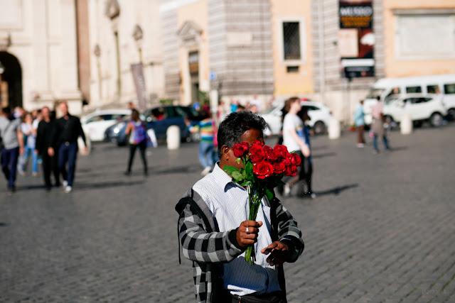 Street photography per le strade di Roma