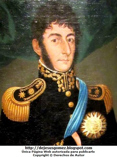 Foto de José de San Martín tomada por Jesus Gómez