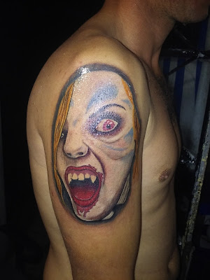 Tatuaje de horror