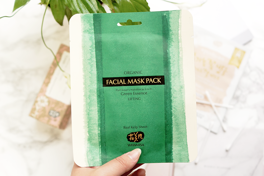 Barely-there-beauty-blog-whamisa-korean-skincare-sea-kelp-sheet-mask-review