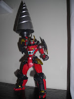 Super Robot Chogokin Gurren Lagann Drill Set of Manliness 06