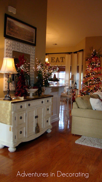 Decorating Great Room Living Area: Adventures In Decorating: Christmas Great Room
