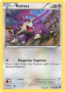 Rattata BREAKpoint Pokemon Card
