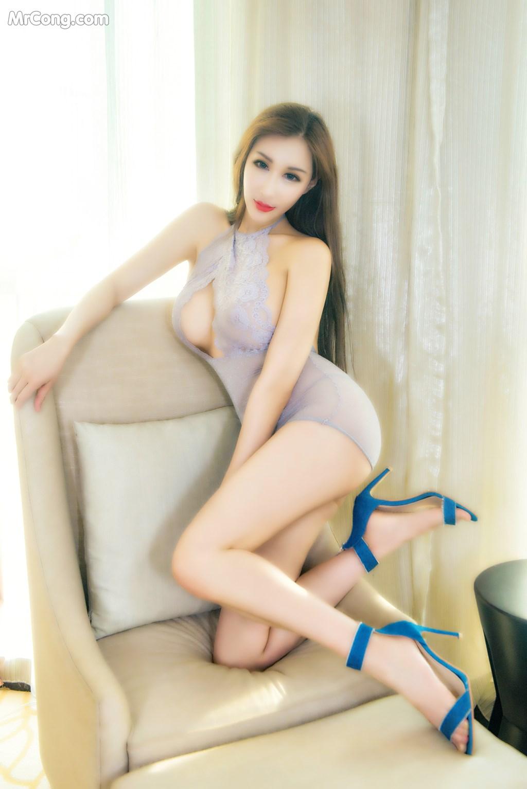Image SLADY-2017-07-15-No.016-Man-Su-La-Na-MrCong.com-010 in post SLADY 2017-07-15 No.016: Người mẫu Man Su La Na (曼苏拉娜) (39 ảnh)
