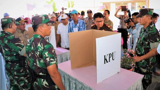 Data TNI dan Kemenangan Prabowo
