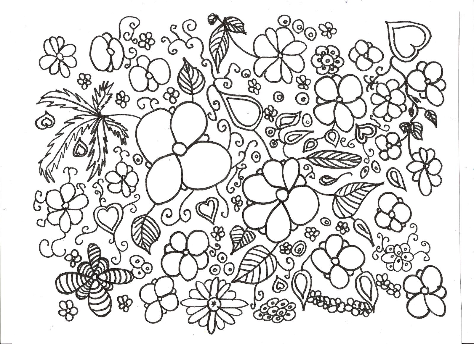Margot Leen: Coloriages pour adultes
