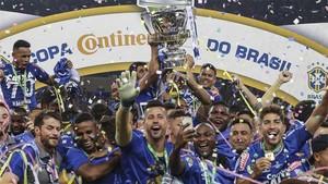 Cruzeiro é campeão da Copa do Brasil
