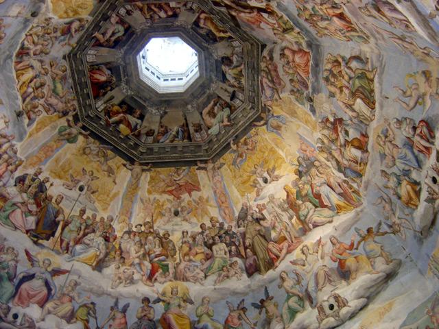 Resultado de imagen de La cúpula de la catedral de Santa María del Fiore.
