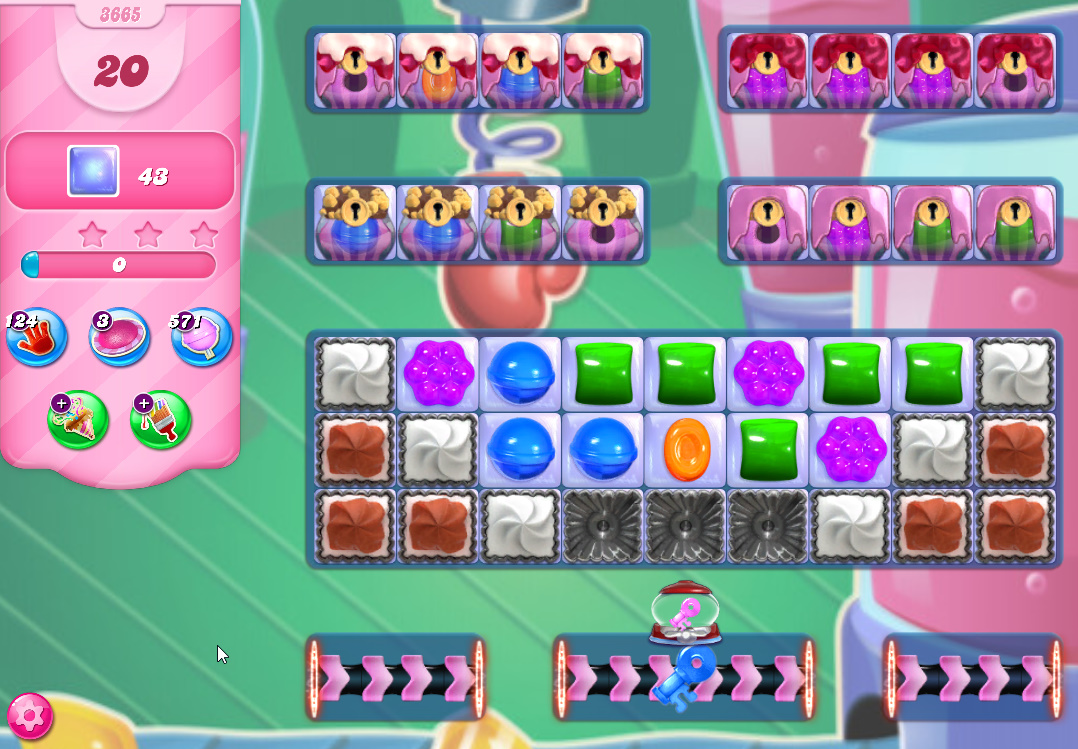 Candy Crush Saga level 3665