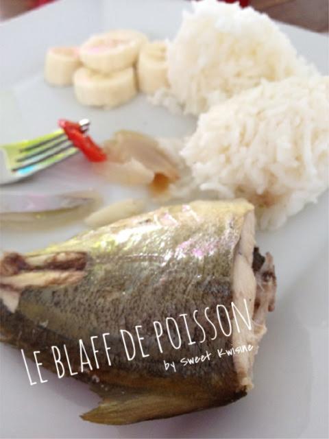 sweet kwisine, recette de poisson, manger du poisson, blaff de poisson, recette facile, cuisine antillaise, martinique, guadeloupe
