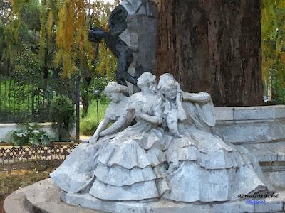 Sevilla - Glorieta de Bécquer