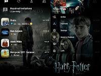 update BBM Harry Potter V3.0.0.18 Terbaru
