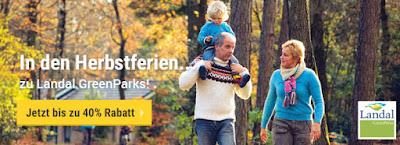 Landal Ferienparks Herbst 2018