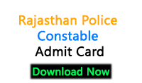 www.police.rajasthan.gov.in admit card 2018 constable exam Rajasthan