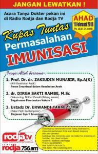 Kupas Tuntas Permasalahan Imunisasi