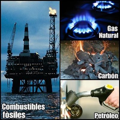 Tipos de Combustibles Fósiles