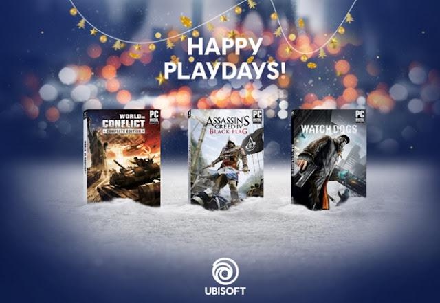 Τρία εκπληκτικά παιχνίδια από την Ubisoft εντελώς δωρεάν!