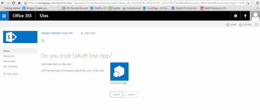 SharePoint Online (O365) OAuth Authentication | Authorizing REST API calls against SharePoint Online Site | Get Access token from SharePoint Online | Set up OAuth for SharePoint Online Office 365