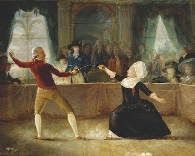 WBUR.org: Le Chevalier De Saint-Georges: Fencer, Composer, Revolutionary