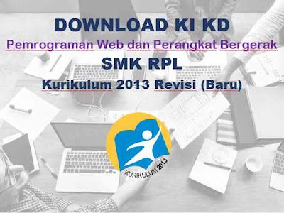 KI KD Pemrograman Web dan Perangkat Bergerak RPL SMK K13 Revisi 2018