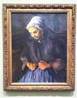 Cezanne, Vieille au chapelet