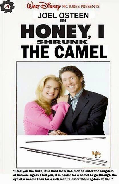 Funny Joek Osteen Walt Disney Honey I Shrunk The Camel Movie Picture