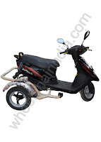 Side Wheel Attachment Scooty Pep Plus