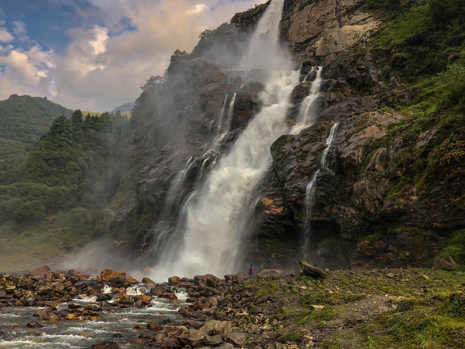 Nuranang Falls, one of the most spectacular waterfalls in the country