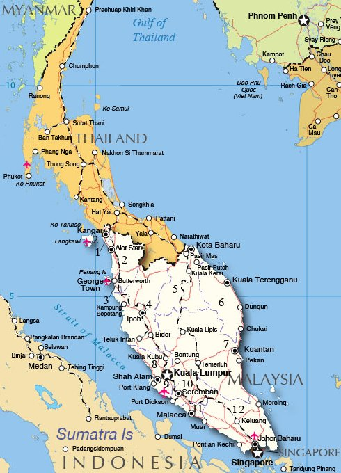 Pacific Sentinel News Story Thailand closes six border