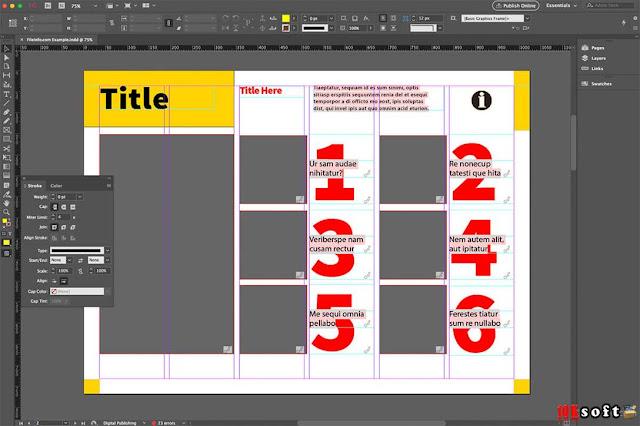 Adobe InDesign CC 2017 for Windows Direct Download Link